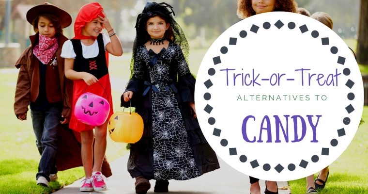Healthy Trick or Treat Candies