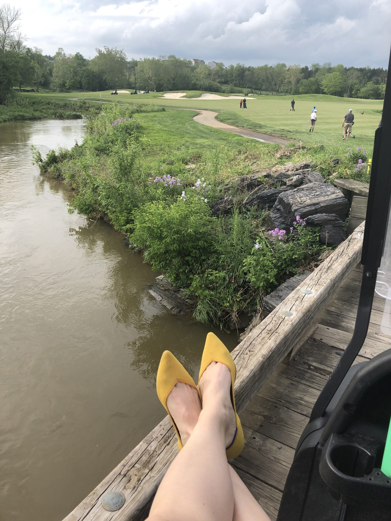 Rothy's on the golf course