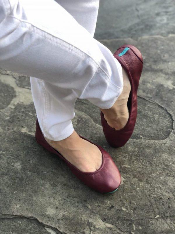 Tieks Shoes on Woman