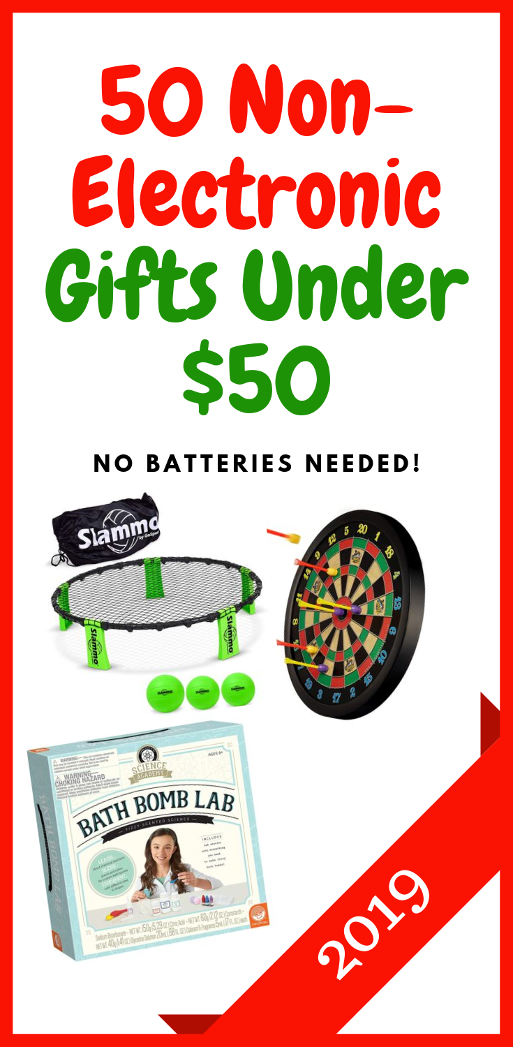 Are your kids addicted to technology?  Here are gift ideas with no batteries at all.   #supermompicks #momlife #technologyaddiction #waituntil8th #giftideas #nobatterytoys #christmas #birthdaygifts #giftguide
