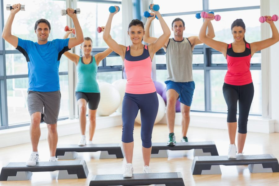 get back into shape to look and feel your best at the gym this year